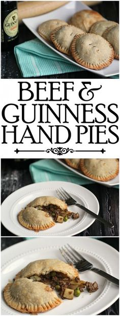 Beef and Guinness Hand Pies are a great St. Patrick's Day Recipe your family will love eating for dinner!