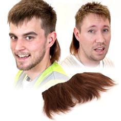 Clip On Mullet.  It's what I'll be using until my real mullet grows in.