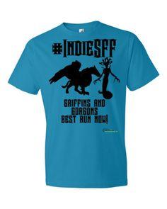 http://www.outsidetheexosphere.biz/product/indiesff-gorgons-griffins-t/  IndieSFF Gorgons & Griffins Short Sleeve T £15.50–£18.50  #IndieSFF #Scifi #Fantasy