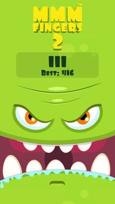 I scored 111 points in Mmm Fingers 2! Can you beat my score? #mmmfingers2