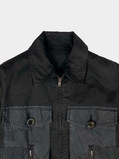 Cotton Jacket, Vintage Cotton, Military Jacket, Denim, Jackets, Fashion, Down Jackets, Moda, Field Jacket