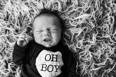 newborn, photoshoot, baby boy, ohh boy