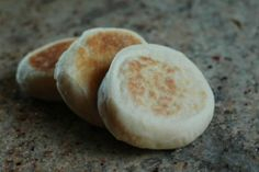 English muffins--looks easy enough!