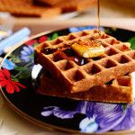 Pioneer Woman Waffles!!  You KNOW these have to be delicious!  Time to break out the new waffle maker!