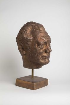Portrait of Juho Mietala, 1981, bronze By Anja Juurikkala (1923-2015). Heinola Art Museum collection. Foto: Niclas Warius