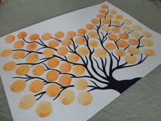 ORIGINAL Wedding Guest Book Alternative Tree of by NatureParadise, $49.99