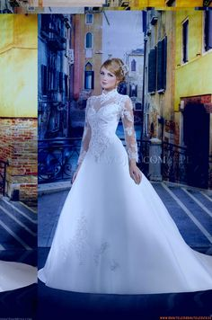 Brautkleider für Prinzessin für Prinzessin aus Satin mit Stickerei