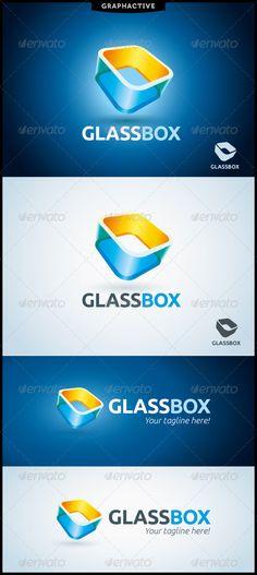 GlassBox Logo Template