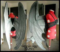 Gargoyle Wings 1 by ~Artsquish on deviantART