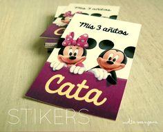 Stikers Mickey y Minnie ::: Vuelta Manzana :::