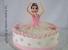 Katty's cakes - Le torte di Katty : Torta Ballerina di danza classica - Dance cake