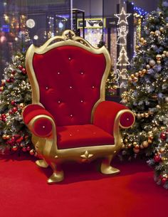 Santa Chair 6ft Tall 4 Ft Wide 1 Available Santa