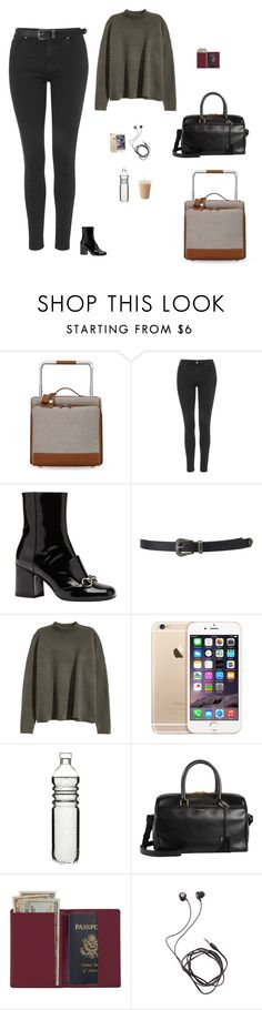 """""""Untitled #1524"""" by tayloremily218 on Polyvore featuring Hermès, Topshop, Gucci, Forever 21, Dot & Bo, Yves Saint Laurent, Royce Leather and Diane Von Furstenberg"""