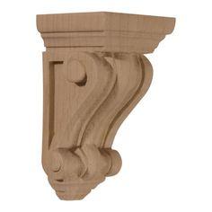 Restorers Architectural 4 1/4 Inch Devon Traditional Corbel