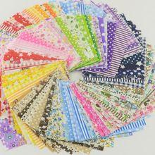 Tela tela de algodón alijo packs encanto patchwork tela que acolcha tilda ningún diseño de repetición tissue 50 piezas 10 cm x 10 cm(China (Mainland))