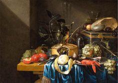 Jan Pauwel Gillemans (II) - Still-Life - 17th century oil on canvas, Height: 58 cm22.8in). Width: 83 cm (32.7 in). Jan Pauwel Gillemans (1651, Antwerp – 1704, Amsterdam), was a Flemish Baroque still life painter.