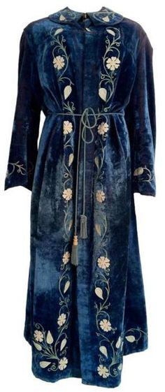 This coat from 1910 would be a perfect ritual robe :)