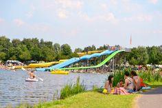Veel plezier aan het water. Fair Grounds, Hotels, Outdoor Decor, Fun, Travel, Water, Europe, Gripe Water, Viajes