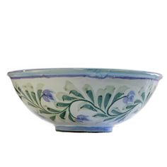 Our small bowls are the perfect size for a single serving of soup, stew, or breakfast cereal. Elegant Table Settings, Lush Green, Earthenware, Serving Bowls, Decorative Bowls, Artisan, Pottery, Hand Painted, Turquoise