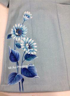 Most current Screen Fabric painting saree Thoughts , Fabric Painting On Clothes, Fabric Paint Shirt, Paint Shirts, Painted Clothes, Fabric Art, Saree Painting, Dress Painting, Silk Painting, Hand Painted Sarees
