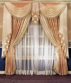 Some beautiful and amazing curtain styles
