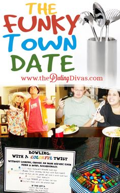 This date is absolutely hilarious.  We are SO getting  a fun group together to do this!  www.TheDatingDivas.com #datenight #dateidea
