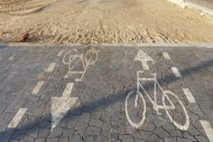 cycling in tel aviv Tel Aviv, Cycling, Projects To Try, Sidewalk, Biking, Bicycling, Side Walkway, Walkway, Walkways
