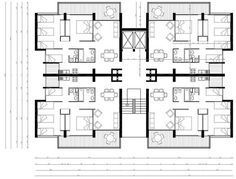[New] The Best Home Decor (with Pictures) These are the 10 best home decor today. According to home decor experts, the 10 all-time best home decor. Residential Building Plan, Building Plans, Architecture Plan, Residential Architecture, Hotel Floor Plan, Architectural Floor Plans, Apartment Floor Plans, Small Apartment Plans, Dream House Plans