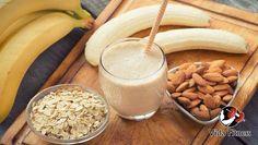 Batido de proteínas casero para ganar masa muscular - Vida Fitness