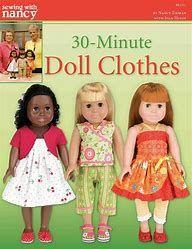 "Image result for Free Printable 18"" Doll Dresses Patterns"