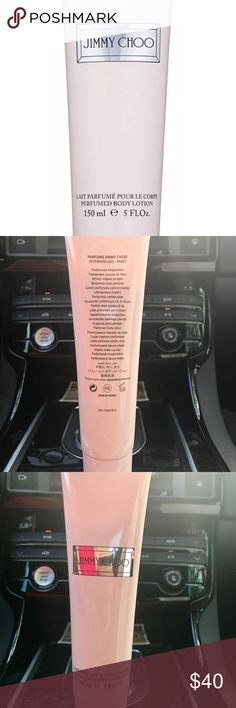 Jimmy choo perfumed body lotion -Full size Jimmy Choo Perfumed Body Lotion.          -BRAND NEW/AUTHENTIC.                          ❌NO TRADING  📦FAST SHIPPER 🔝 RATED SELLER  💵MAKE ME AN OFFER Jimmy Choo Makeup
