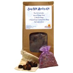 Get rid of your chemical based detergents and discover the green way to clean with soap nuts! Soap nuts contain a natural compound known as saponin, which acts as a natural surfactant to safely and effectively wash even the most delicate fibers.