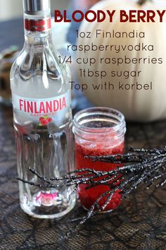 @korbel1882 #halloween #cocktails #freshdrinkrecipe #champagne #finlandia #vodka