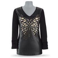 Laser Cut Butterfly Top