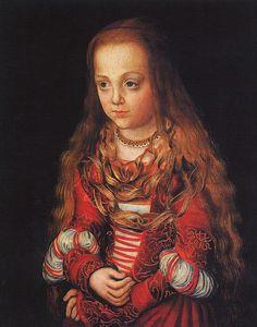 a princess of saxony 1517 Cranash Lucas the elder