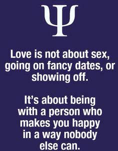 That's what love is about................