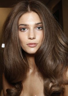 Beautiful hair - natural #holiday #party #hair