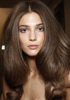 Beautiful hair - natural #holiday #party #hair