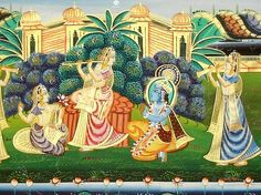 Lord Krishna in Ras Leela (2)