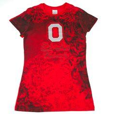 "Ohio State Buckeyes Women's ""Fight-On"" Designer Shirt"