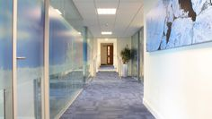 #Refurbishment of #office interiors including all finishes and fixed furniture, paving replacement, and alterations to #mechanical and #electrical systems...