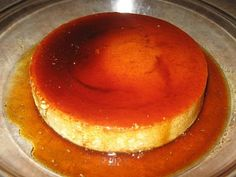 Making Cuban Flan ... the best flan I ever ate was made by a Cuban lady ... this was in the early 80s.