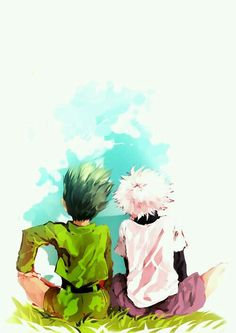 Gon and Killua (HxH)