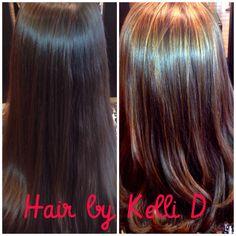#balyage #caramel #hairbykellid