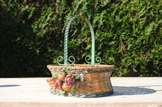 Very Pretty Vintage French Basket For Sale at www.theoriginalfrenchfurniturecompany.com