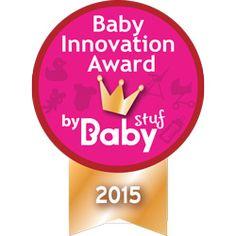 Logo Baby Innovation Award 2015   Babystuf.nl