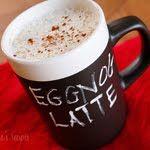 Skinny Eggnog Latte {recipe}