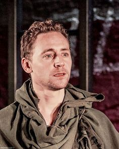Tom Hiddleston as Coriolanus at the National Theater in London