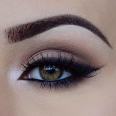 Smokey cat eye…