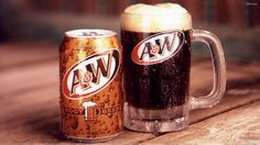 Theme Restaurant Copycat Recipes: A&W Root Beer What Is Root Beer, A&w Root Beer, A&w Restaurants, Fast Food Items, Non Alcoholic Drinks, Cold Drinks, Restaurant Recipes, Restaurant Drinks, Copycat Recipes